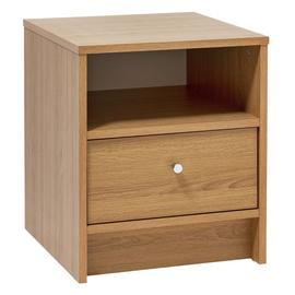 Argos Home Malibu 1 Drawer Bedside Table