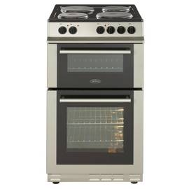 Belling FS50EFDO 50cm Double Oven Electric Cooker - Silver