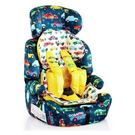 Cosatto Zoomi Group 1/2/3  Rev Up Car Seat - Multicoloured