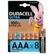 more details on Duracell Ultra Power Alkaline AAA Batteries - Pack of 8.