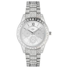 Spirit Lux Ladies' Stone Set Bracelet Multidial Watch