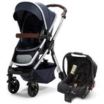 more details on Baby Elegance Venti Navy Travel System.