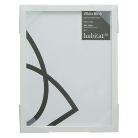 Habitat 30x40cm Wall Frame - White Birch.