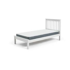 Argos Home Aspley White Single Bed Frame & Kids Mattress