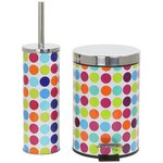 more details on ColourMatch Slow Close Bin and Brush Set - Spots.
