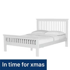 Argos Home Aubrey Kingsize Bed Frame - White