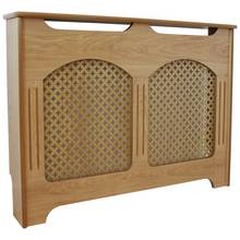 Collection Winterfold Medium Radiator Cover - Oak effect