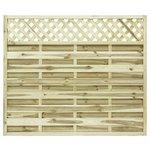 more details on Grange 1.5m Elite St Malo Fence Panel - Pack of 4.
