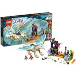 more details on LEGO Elves Queen Dragons Rescue Playset - 41179.