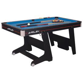 Riley 5' Folding Pool Table.