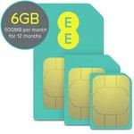 more details on EE 500mb Data SIM.
