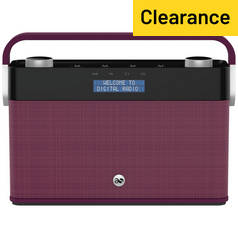 Acoustic Solutions DAB Radio - Plum