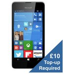 more details on Vodafone Microsoft Lumia 550 Mobile Phone - White.