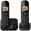more details on Panasonic Cordless Telephone with Answer Machine - Twin.