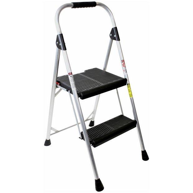 buy abru wide 2 step lightweight stepladder at your online shop for ladders and. Black Bedroom Furniture Sets. Home Design Ideas