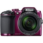 more details on Nikon B500 16MP 40x Zoom Bridge Camera - Plum.