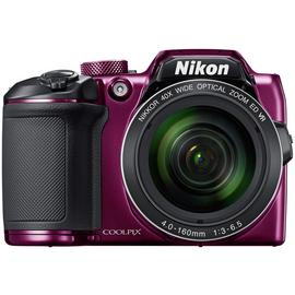 Nikon B500 16MP 40x Zoom Bridge Camera - Plum