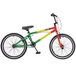 more details on Rooster Jammin Single Speed BMX - Green/Yellow/Red
