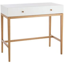 Habitat Tatsuma 1 Drawer Dressing Table - Ash & White