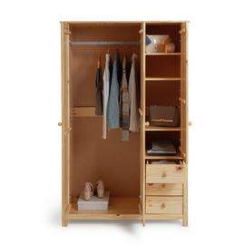Argos Home Scandinavia 3 Door 3 Drawer Wardrobe