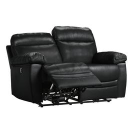 Argos Home Paolo 2 Seater Power Recliner Sofa - Black