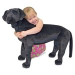 more details on Melissa and Doug Black Lab Plush.