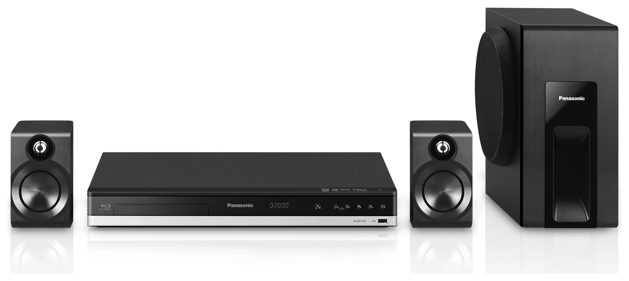 Panasonic SCBTT105EB9 300W 2.1 Smart 4K Home Cinema System.