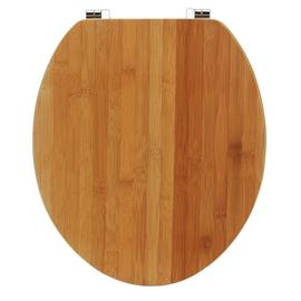 Argos Home Solid Bamboo Toilet Seat - Natural