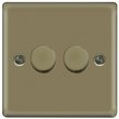 more details on Masterplug Double 2 Way Dimmer Switch - Pearl Nickel.