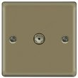 more details on Masterplug Single Co-Axial Socket - Pearl Nickel.