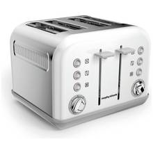Morphy Richards 242032 Accents Four Slice Toaster - White