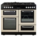 more details on Bush BFCX100DFC Duel Fuel Range Cooker - Cream.