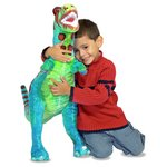 more details on Melissa and Doug T Rex Plush.