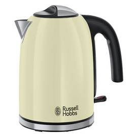 Russell Hobbs 20415 Colours Plus S/Steel Kettle - Cream