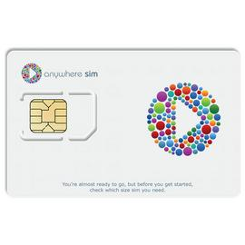Anywhere Pay As You Go SIM Card