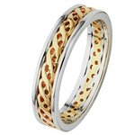 more details on 9ct Gold 2 Coloured Celtic Style Wedding Ring.