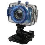 more details on Vivitar DVR783HD Action Camera - Blue.