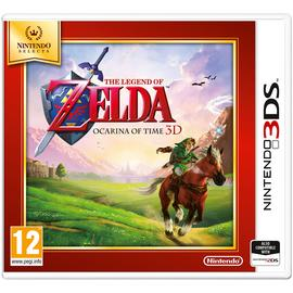 The Legend of Zelda: Ocarina of Time Selects 3DS Game