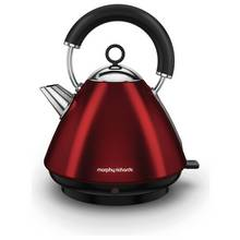 Morphy Richards 102029 Accents Pyramid Kettle - Red