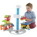 more details on Fisher-Price Little People Spinnin' Sounds Airport
