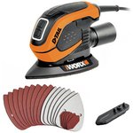 more details on WORX D-TAIL Corded Palm Sander- 55W.