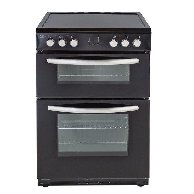 buy bush beid60b electric cooker black at. Black Bedroom Furniture Sets. Home Design Ideas
