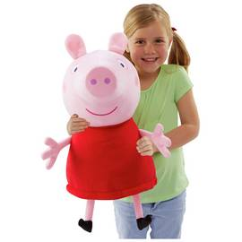 a24278283bc Peppa Pig Giant Talking Peppa Soft Toy