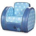 more details on Blue Denim Print Toddler Chair.