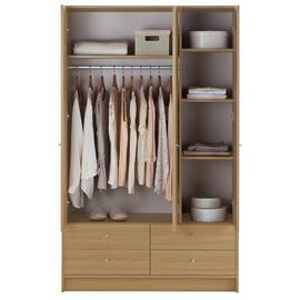 Argos Home Malibu 3 Door 4 Drawer Wardrobe