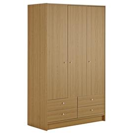 Argos Home New Malibu 3 Door 4 Drawer Wardrobe