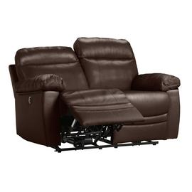 Argos Home Paolo 2 Seater Power Recliner Sofa - Brown