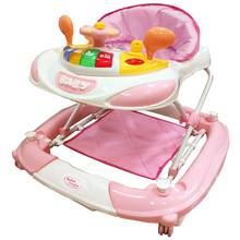 Bebe Style F1 Racing Car Walker n Rocker - Pink.