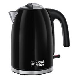 Russell Hobbs 20413 Colours Plus S/Steel Kettle - Black