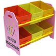 more details on Bebe Style Crayon 6 Bin Storage - Pink.